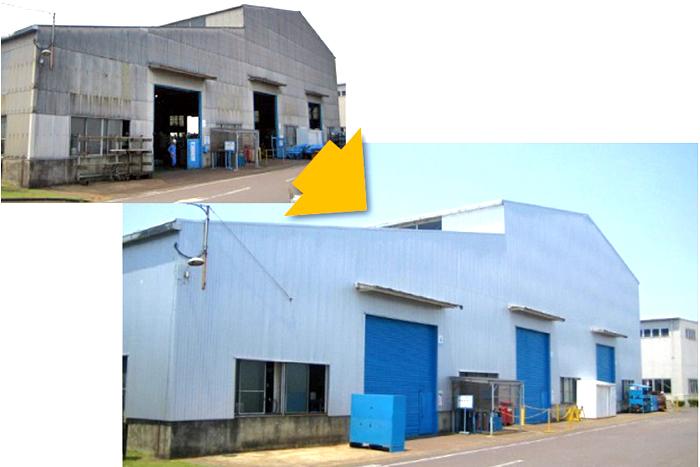 定温倉庫・工場
